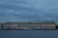 Russia. Sankt Petersburg. Winter Palace. The State Hermitage Museum Stock Image