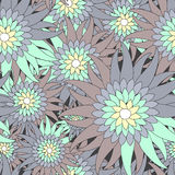 Russia seamless floral pattern.slavs design.  illustration Stock Photo