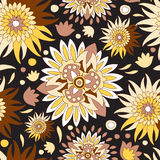 Russia seamless floral pattern.slavs design.  illustration Royalty Free Stock Image