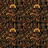 Russia seamless pattern- illustration Stock Image