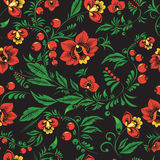 Russia seamless pattern- illustration Royalty Free Stock Photo