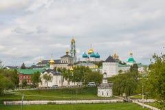 Russia, Sergiev-Posad, 18, May, 2016: View of the Trinity-St. Sergius Lavra royalty free stock photo
