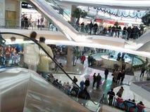 russia shopping Arkivbild