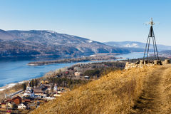 Russia Siberia Krasnoyarsk spring landscape  Stock Photos