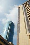 russia skyskrapor yekaterinburg arkivfoto