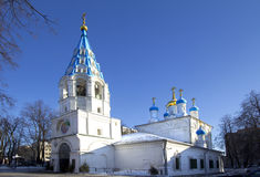 Russia. The small Church of St. Peter and Paul's Cathedral in Moscow. Stock Image