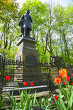 Russia, Smolensk, Monument to the great Russian composer Mikhail Royalty Free Stock Image