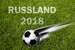Russia soccer championship stock photography