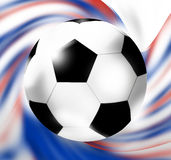 Russia Soccer Football. Creative Graphic Design illustration Royalty Free Stock Photo