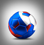 Russia soccer football russian ball Royalty Free Stock Photos