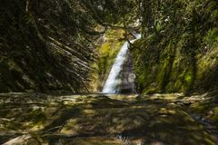 Free Russia. Sochi. Mountain River And Waterfall Royalty Free Stock Photos - 116622608