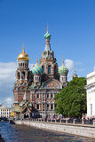 Russia.Spas-na-krovi cathedral Stock Images