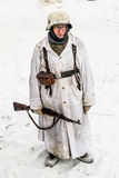 Russia St. Petersburg. January 25, 2015.Soldiers of the Wehrmach Stock Images