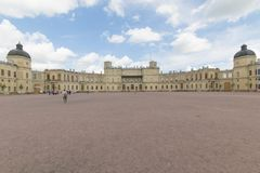 Russia, St. Petersburg, 13, July, 2017: Gatchina Palace and the park royalty free stock photography