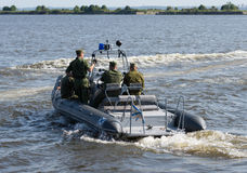 Russia, St. Petersburg, July 15, 2015. Military Navy Training. N Stock Image