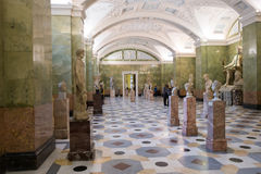 Russia, St. Petersburg, Jupiter Hall in Hermitage Stock Photos