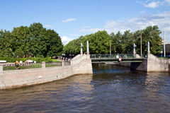 Russia, St. Petersburg, Kryukov canal Stock Photography