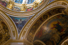 Russia. St. Petersburg. St. Isaac Cathedral. Royalty Free Stock Photo
