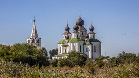 Russia , Starocherkassk , the first capital of the Don Cossacks. Branch Resurrection Cathedral , built in 1706 , with the participation of Tsar Peter the Royalty Free Stock Photos