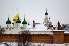 Russia. Suzdal. Travel in Russia. The Golden Ring. Suzdal. Spaso - Evfimevsky monastery (Saviour Monastery of St. Euthymius Stock Photos