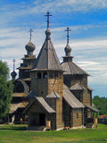 Russia. Suzdal. Museum of wooden architecture Royalty Free Stock Image