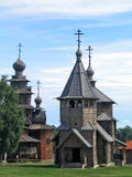Russia. Suzdal. Museum of wooden architecture Royalty Free Stock Photography