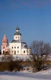 Russia. Suzdal. Winter stock photo