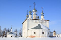 Russia. Suzdal. Winter Stock Image