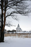 Russia. Suzdal. Winter. The Golden Ring of Russia. Suzdal. Ilya (Elijah) the Prophet Church Stock Photography