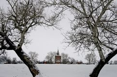 Russia. Suzdal. Winter Royalty Free Stock Images