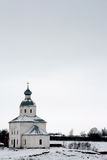 Russia. Suzdal. Winter. The Golden Ring of Russia. Suzdal. Ilya (Elijah) the Prophet Church Royalty Free Stock Photos