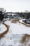 Russia. Suzdal. Winter stock photos