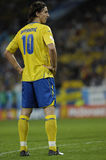 Russia-Sweden EURO2008. EURO 2008 Russia Sweden Zlatan Ibrahimovic Soccer football star royalty free stock photography