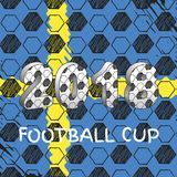 Russia 2018 Sweden football cup Royalty Free Stock Photos