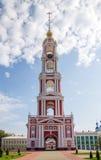 Russia. Tambov. Bell Tower of Kazan Monastery Royalty Free Stock Photography
