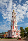 Russia. Tambov. Bell Tower of Kazan Monastery Royalty Free Stock Photo