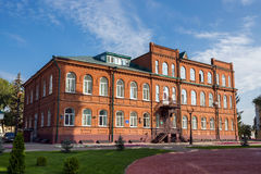 Russia. Tambov. Building high school Royalty Free Stock Photos