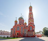 Russia. Tambov. Cathedral of the Ascension in Ascension Monaster Stock Image