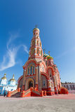 Russia. Tambov. Cathedral of the Ascension in Ascension Monaster Stock Photos