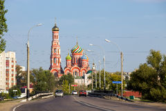 Russia. Tambov. Cathedral of the Ascension Royalty Free Stock Photo