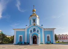 Russia. Tambov. Church of Our Lady of Joy of All Who Sorrow in A. TAMBOV, RUSSIA - SEPTEMBER 13, 2014: Tambov city. Church of Our Lady of Joy of All Who Sorrow Stock Images