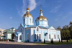 Russia. Tambov. Church of Our Lady of Joy of All Who Sorrow in A. TAMBOV, RUSSIA - SEPTEMBER 13, 2014: Tambov city. Church of Our Lady of Joy of All Who Sorrow Royalty Free Stock Photo
