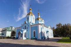 Russia. Tambov. Church of Our Lady of Joy of All Who Sorrow in A. TAMBOV, RUSSIA - SEPTEMBER 13, 2014: Tambov city. Church of Our Lady of Joy of All Who Sorrow Royalty Free Stock Images