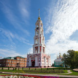 Russia. Tambov city. Bell Tower of Kazan Monastery Royalty Free Stock Images