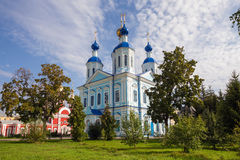 Russia. Tambov city. Cathedral of Kazan Monastery Royalty Free Stock Photography
