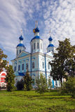 Russia. Tambov city. Cathedral of Kazan Monastery Stock Photos