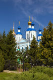 Russia. Tambov city. Cathedral of Kazan Monastery Stock Images