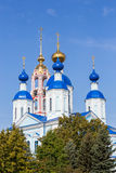 Russia. Tambov city. Cathedral of Kazan Monastery Stock Photos