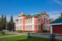 Russia. Tambov. Music School named Rachmaninoff Stock Photography