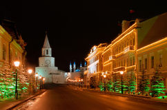 Free Russia. Tatarstan. Kazan Kremlin And Mosque Stock Images - 13572014